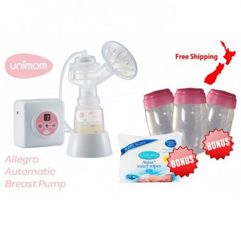 Unimom Allegro Breast Pump + Bonus Gifts