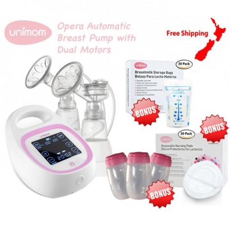Unimom Opera Breast Pump + Bonus Gifts