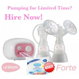 Unimom Forte Breast Pump - Double Sided Expression - HIRE