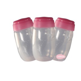 Unimom Breast Milk Storage bottles single or 3 pack