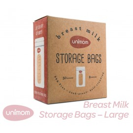 Unimom Breast Milk Storage Bags Large 240ml  50 or 100 / box