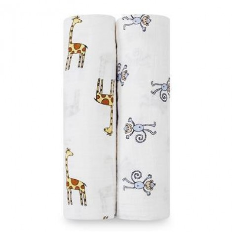 Aden + Anais Jungle Jam - Classic Swaddles (2 Pack)