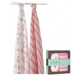 Aden + Anais Princess Posie - Classic Swaddles (2 Pack)