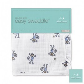 Aden + Anais Jungle Jam - Monkey - Easy Swaddle Classic