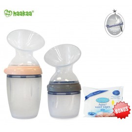 Haakaa Generation 3 Silicone Breast Pump (160ml/250ml)