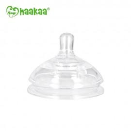 Haakaa Generation 3 Silicone Bottle Anti-Colic Nipple (Small/Large)