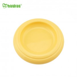 Haakaa Silicone Breast Pump Yellow Cap
