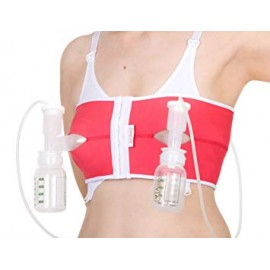 PumpEase Hands Free Pumping Bra - Watermelon