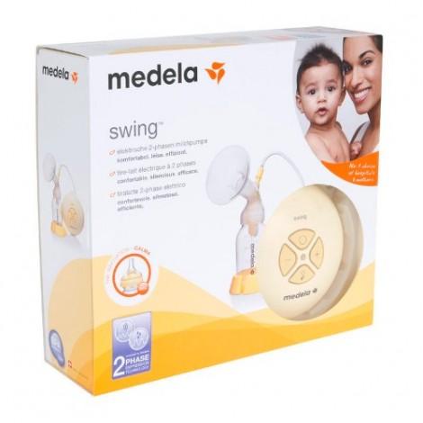 Medela Swing Breast Pump + Water Wipes Single Pack (60 Wipes)