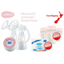 Unimom Minuet Breast Pump + Bonus Gifts