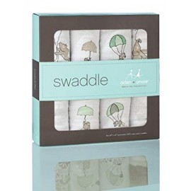 Aden + Anais Up, Up & Away - Classic Swaddles (4 Pack)