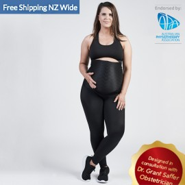 SRC Pregnancy Leggings Over The Bump