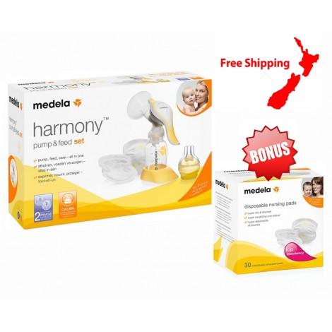 Medela Harmony Pump & Feed Set + Bonus Gift