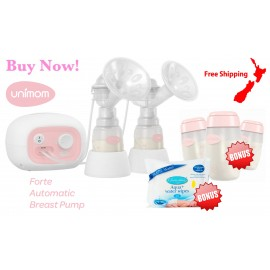 Unimom Forte Breast Pump & Bonus Gifts