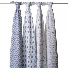Aden + Anais Prince Charming - Classic Swaddles (4 Pack)