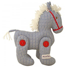 Alimrose Jointed Pony - Blue Red