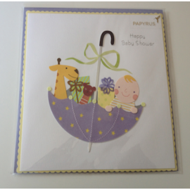 Baby Shower Card - Happy Baby Shower!