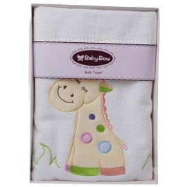 Velour George Giraffe  Bath Towel