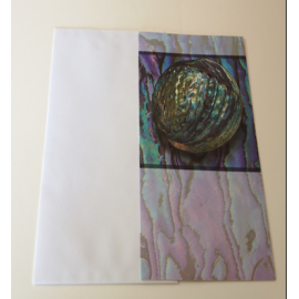 NZ Paua Card - Add Your Own Message!