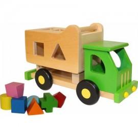 Discoveroo Sort N Tip Garbage Truck