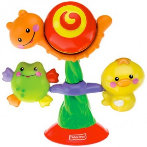 Fisher - Price Spin N Play Suction Toy