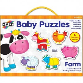 Galt Baby Puzzles Farm - From 18+ months