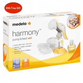 Medela Harmony Breast Pump + accessories