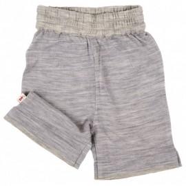 Cocooi Lightweight Merino Shorts -  Grey   12 - 24months