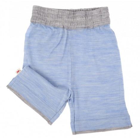 Cocooi Lightweight Merino Shorts -  Sky  6 - 12months