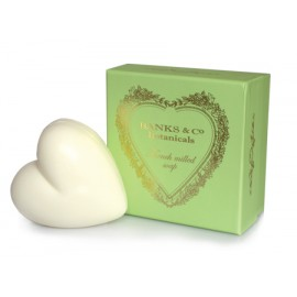Pacifica Green Boxed White Heart Soap