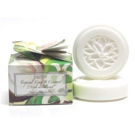 Pacifica Tropical Lime and Coconut Soaps (boxed)