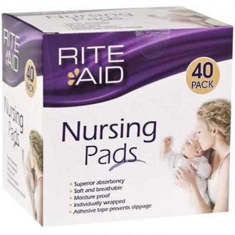 Rite Aid Nursing Pads (40 per Pack)