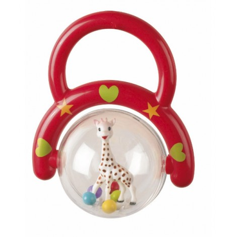 Sophie The Giraffe Rattle with Handle from 3+ Months