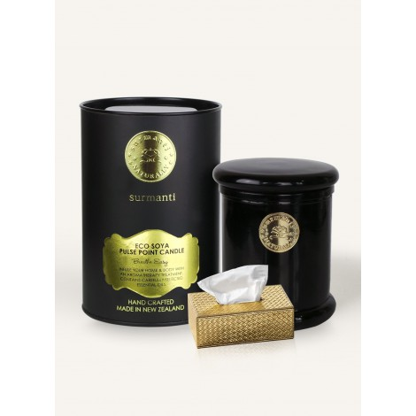 Surmanti Breathe Easy ECOSOYA Aromatherapy Candle