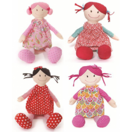 Lily & George Rag a Muffin Dolls (Large)